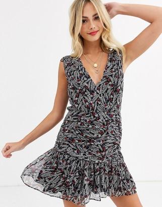 Stevie May marsellies sleevelss printed mini dress