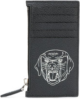 Givenchy rottweiler zipped cardholder - men - Leather - One Size