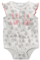 First Impressions Hello Sunshine Cotton Snap-Up Bodysuit, Baby Girls (0-24 months), Created for Macy's