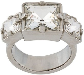 DSQUARED2 Square Crystal Ring