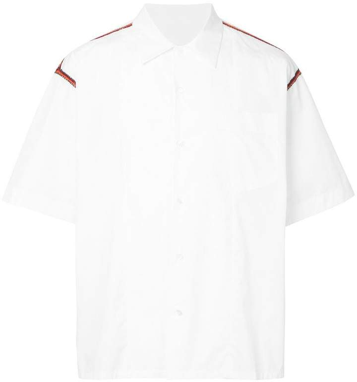 Marni embellished detail shirt