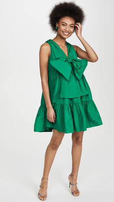 MSGM Bow Front Shift Dress
