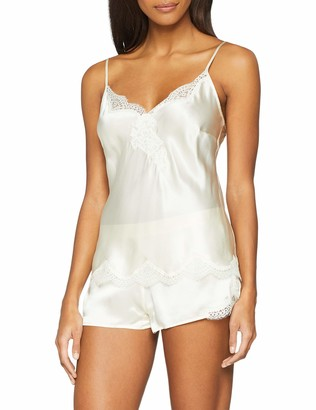 Aubade Women's Soie d'Amour Deshabille Nightie Nightgown Slip Chemise