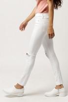 Hudson Nico Midrise Ankle Skinny Jean