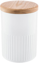 The Bakehouse & Co - White Steel Storage Canister - 26cm