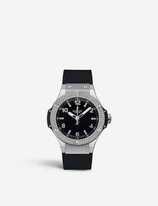 Hublot 361.SX.1270.RX.1104 big bang steel diamonds watch