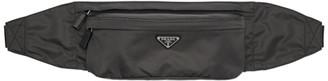 Prada Grey Nylon Belt Bag
