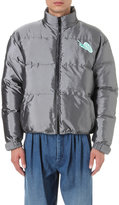 J.w. Anderson Snail-patch Padded Down Bomber Jacket