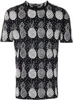 Dolce & Gabbana pineapple pattern T-shirt - men - Cotton - 50