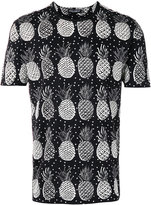Dolce & Gabbana pineapple pattern T-shirt