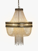John Lewis & Partners Lucia Crystal Chandelier, Crystal/Clear