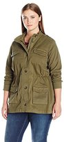 Lucky Brand Women's Plus-Size Utility Jacket