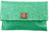 Anya Hindmarch Valorie Crinkle Leather Clutch w/ Tags