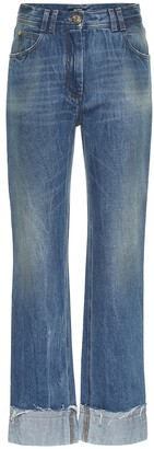 Balmain High-rise straight jeans