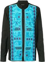 Balmain mandarin collar shirt - men - Cotton - 43
