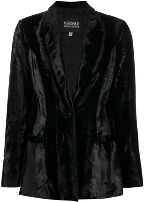 Versace Pre-Owned '1990s notched collar jacket