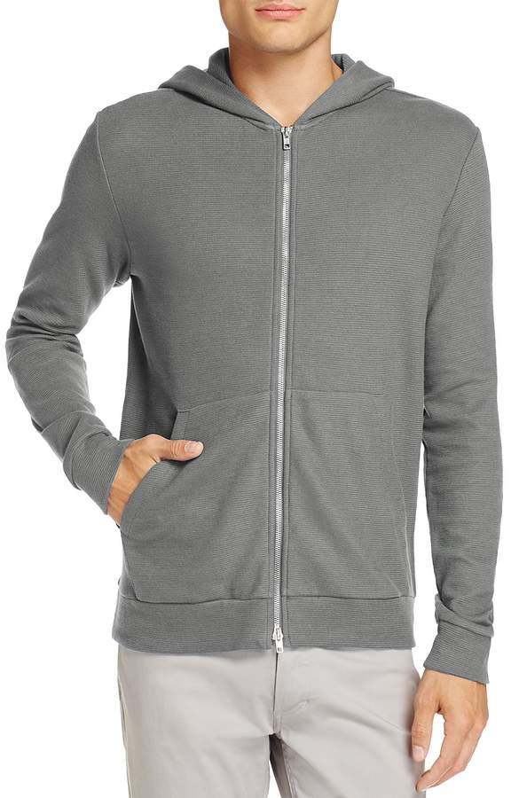 Theory Daulton Ridge Full-Zip Hooded Sweater