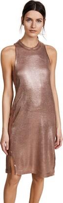 Splendid Women's Astor Metallic Coated Dress Dress