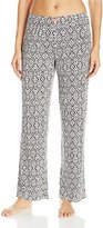 Ellen Tracy Women's Long Rayon Spandex Pant