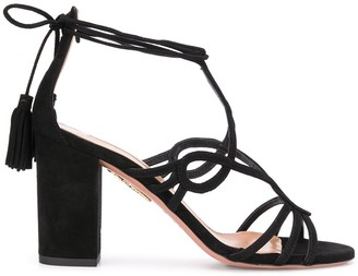 Aquazzura Gitana 85 block-heel sandals