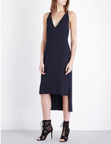 Dion Lee Whitewash Fine Line crepe dress