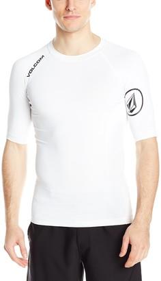 Volcom Men's Solid Short Sleeve