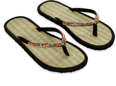 Monsoon Jessie Beaded Seagrass Flip Flops
