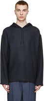 3.1 Phillip Lim Navy Knit Poncho Sweater