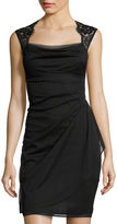 JCPenney Scarlett Sleeveless Lace-Shoulder Dress