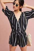 Beachgold Ancona Striped Romper