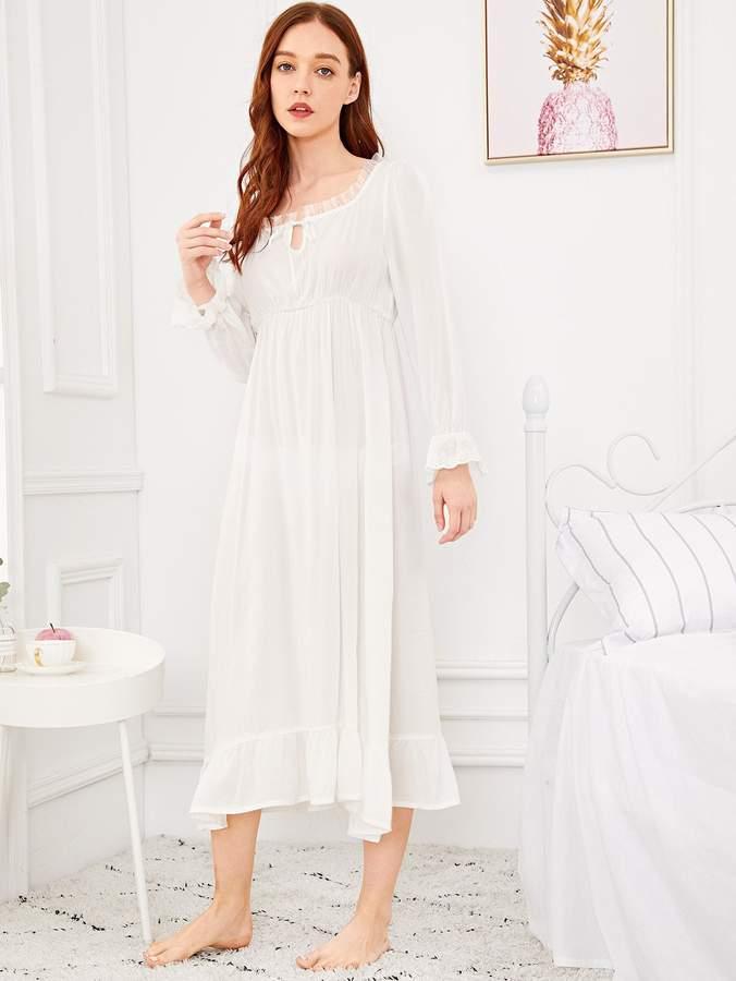 39f4b652ec47e Women's Ruffle Nightgown - ShopStyle