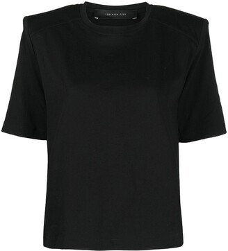 FEDERICA TOSI padded shoulder T-shirt
