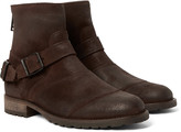 Belstaff - Trialmaster Burnished-suede Boots