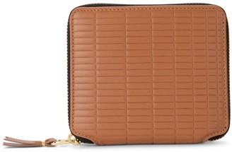 Comme des Garcons Brick Line Leather Wallet