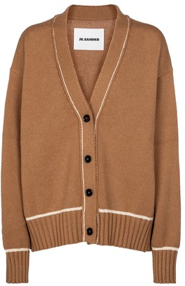 Jil Sander Wool and alpaca cardigan