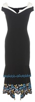 Peter Pilotto Cady embroidered dress