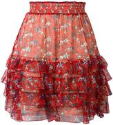 Just Cavalli star print skirt - women - Silk/Viscose - 40