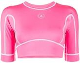 Thumbnail for your product : adidas by Stella McCartney TrueStrength yoga cropped top