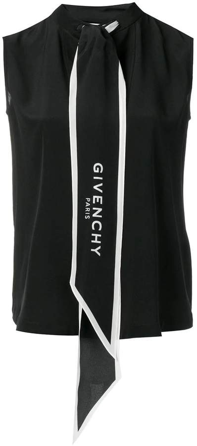 39c51f5493d logo print scarf vest