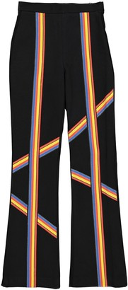 Peter Pilotto Black Synthetic Trousers