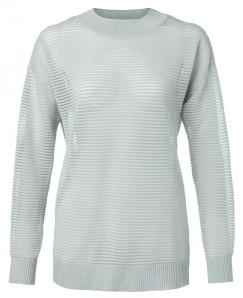 Ya-Ya Ribbed Lurex Sweater - XS