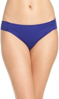 Trina Turk Women's Shirred Hipster Bikini Bottoms