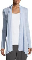 Eileen Fisher Linen-Blend Shaped Cardigan, Plus Size