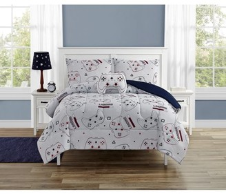 Beco Home Winning Game 3 Piece Comforter Set with decor pillow Twin