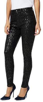 Joe's Jeans The Charlie Ankle Skinny Jeans in Shiny Cheetah