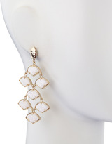 Kendra Scott Kinston Chandelier Earrings, White
