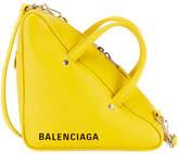 Balenciaga Triangle Duffel Small Leather Bag