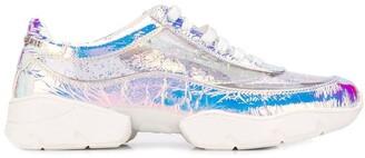 Philipp Plein Laminated Sneakers