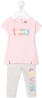 Levi's Logo-Print Two-Piece Set