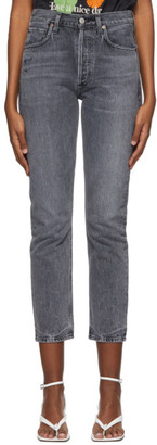 Citizens of Humanity Grey Charlotte High-Rise Jeans